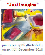 Just Imagine, Abstract Watercolors and Arylic Paintings by Phyllis Neider